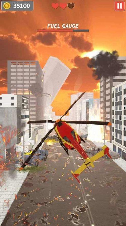 直升机逃生游戏无限金币破解版图3: