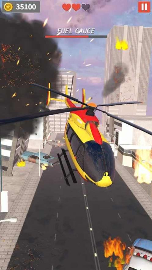 直升机逃生游戏无限金币破解版图片1