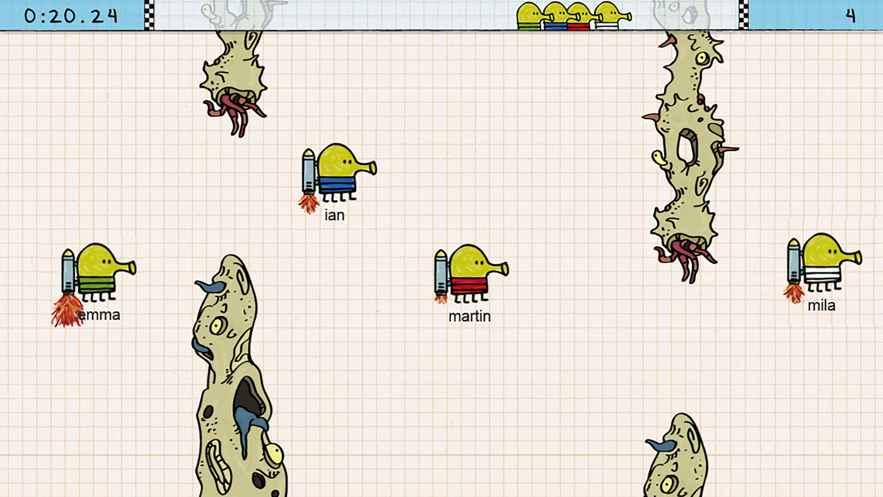 Doodle Jump Race安卓版游戏图3: