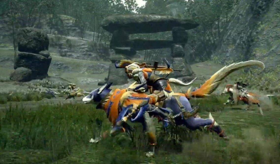 怪猎崛起铠石鲷完整最新版图3: