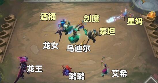 云顶之弈s5龙族阵容搭配图表大全 s5龙族阵容怎么组合[多图]