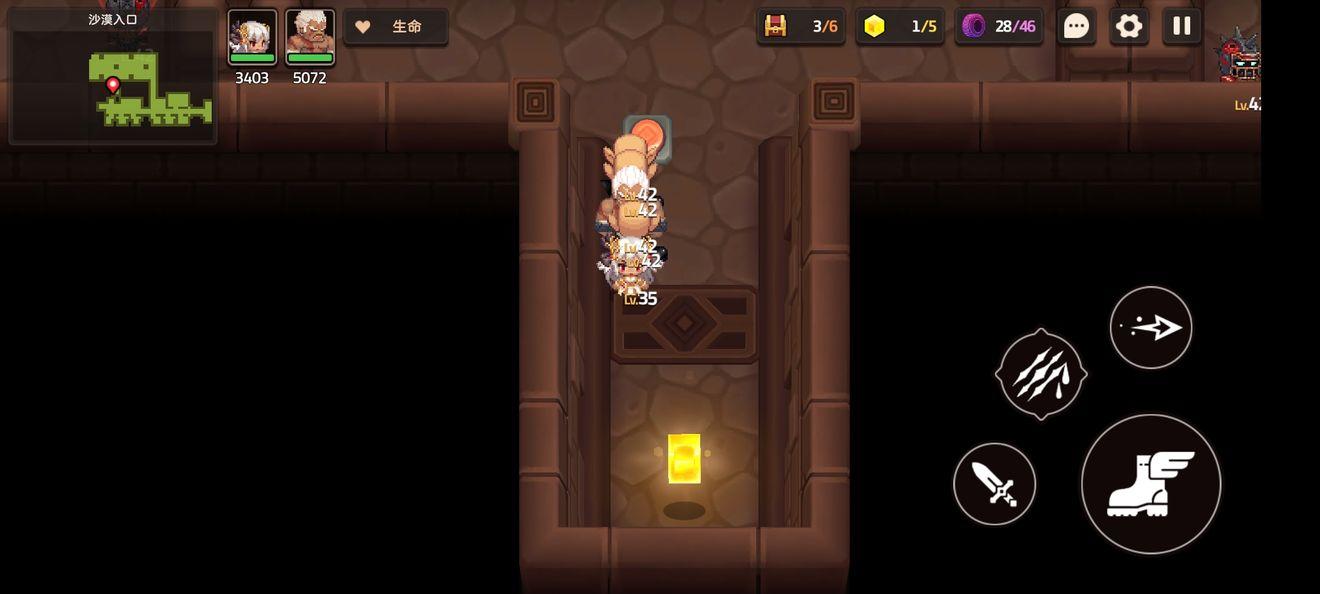 坎公骑冠剑4-1黄色碎片位置大全 4-1钥匙在哪[多图]
