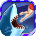 饥饿鲨进化开局就送大白鲨版