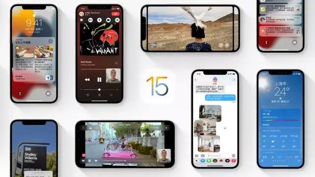 iOS15 RC准正式版合集