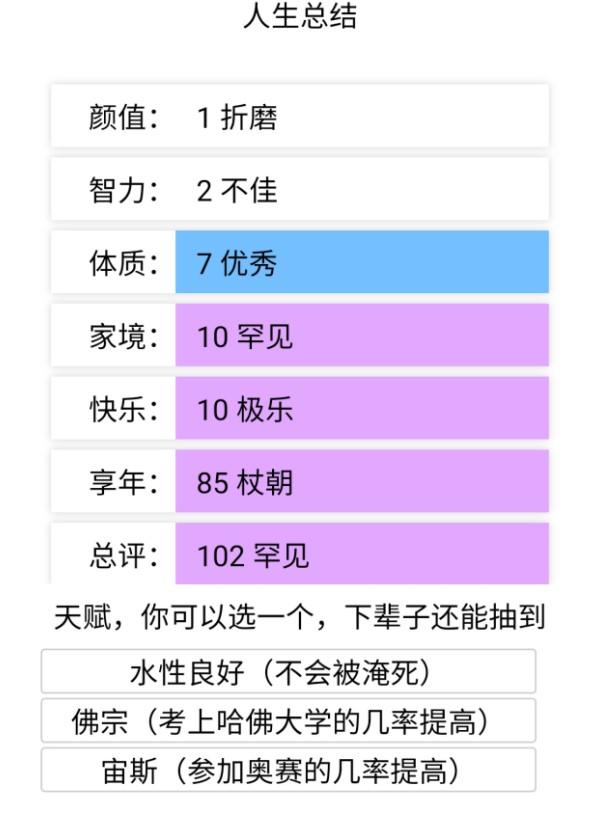 人生重启模拟器游戏官方中文版图1: