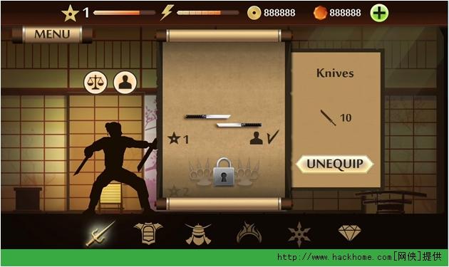 《暗影格斗2/Shadow Fight 2》无限金币钻石内购存档图1: